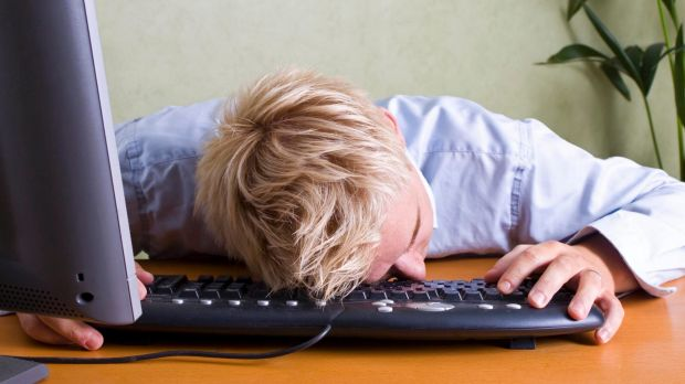 """""""When people are sitting for long periods of time - like seven hours a day - they are more fatigued,"""" Professor David ..."""