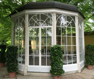 The gazebo from <i>The Sound of Music</i> is now out of bounds after an elderly woman injured herself re-enacting a ...