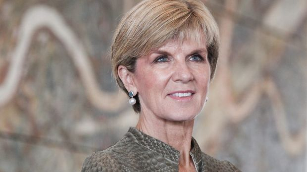 Foreign Affairs Minister Julie Bishop hosted the function.