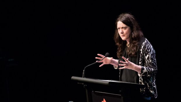 Helen Macdonald delivered the closing night address.