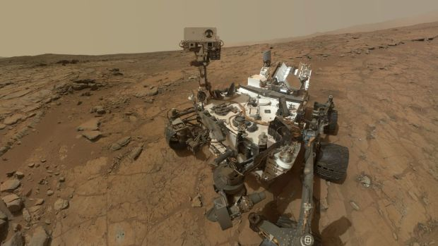 Another triumph: Curiosity posts a selfie from the surface of Mars.