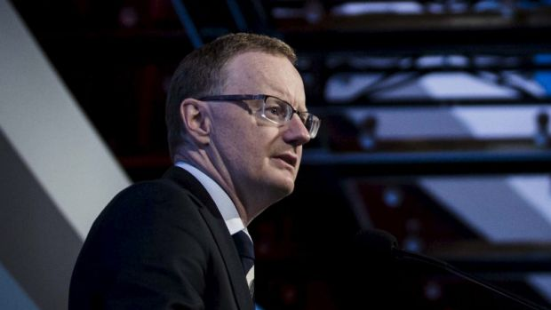 RBA deputy governor Philip Lowe speaks at a conference in Adelaide this morning.