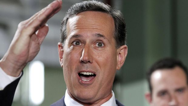 Republican Rick Santorum served in the Senate the last time the US refused to pay its UN dues in full.