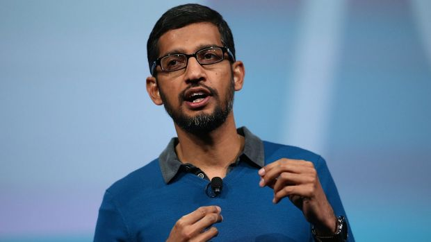 Pichai received $US99.8 million in restricted stock that will vest in full by 2017.