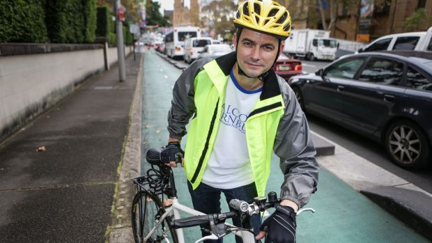 If bike paths are ripped up cyclists will be forced onto pathways or into dangerous traffic: Shayne Mallard.