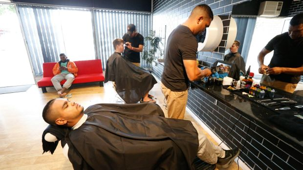 Lloyd Munro says his is the first and only Indigenous barber shop in the state.