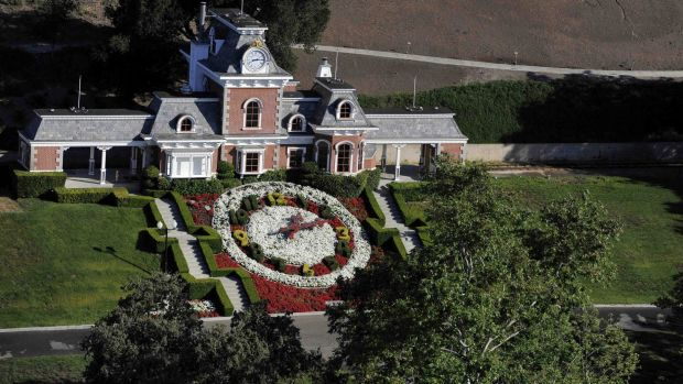 A view of Neverland from above.