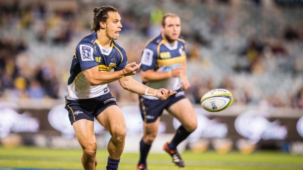 Ready: Matt Toomua wants to be back in the Brumbies' starting line up.