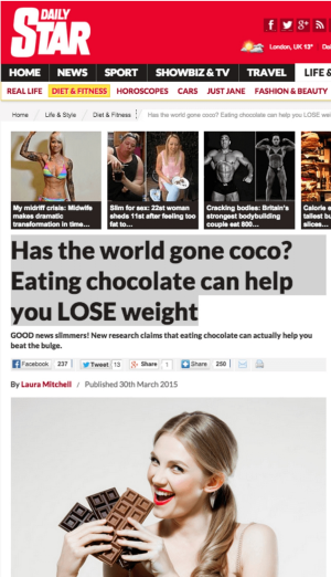 Has the <i>Daily Star</i> gone coco?