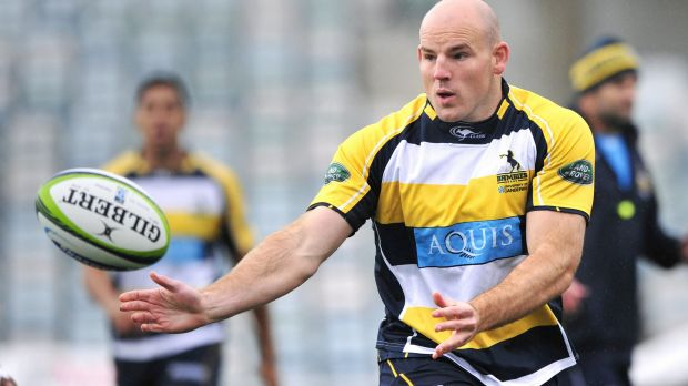 ACT Brumbies captain player Stephen Moore says his side has to deal with the pressure against the Western Force on ...