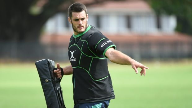 Sore head: Dave Dennis could miss the Waratahs' next trial match