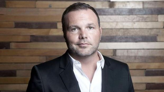 US Pastor Mark Driscoll was featured in a video interview played on a giant screen at the Hillsong national conference ...