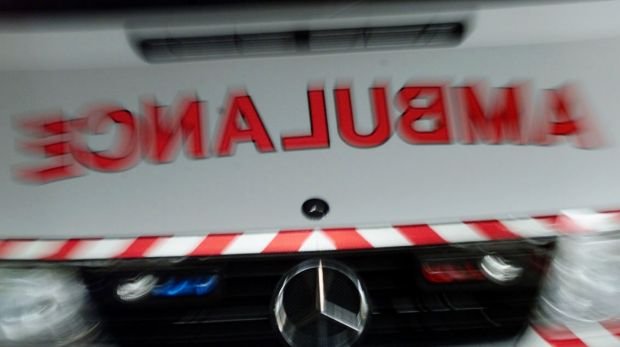 A man has died after crashing his car into a tree in southeast Queensland.