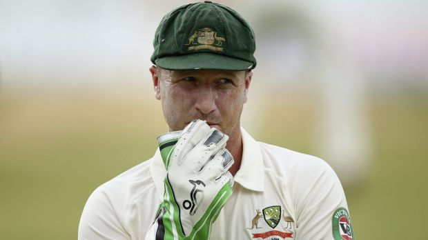 "Competitive keeper: ""I didn't want to leave my career in other people's hands,"" says Brad Haddin."