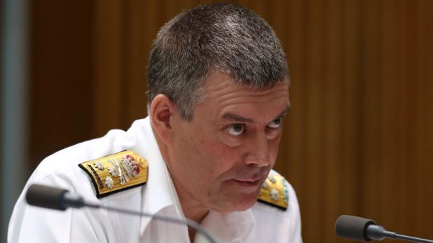 Vice-Chief of the Defence Force Vice-Admiral Ray Griggs.