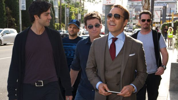 The cast of Entourage weren't subjected to the same vitriol as SATC, despite the film being similarly bad.