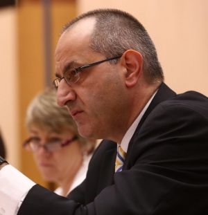 Department of Immigration and Border Protection secretary Mike Pezzullo.