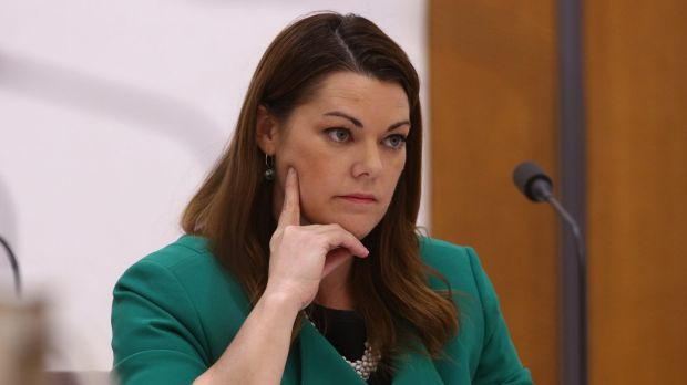 Greens senator Sarah Hanson-Young referred the office of former Immigration Minister Scott Morrison over the alleged ...