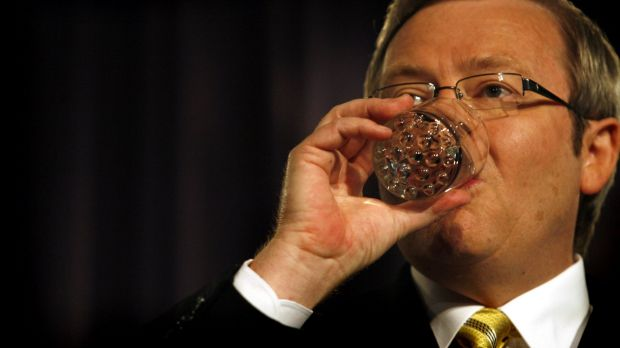 In his first two years in government, former prime minister Kevin Rudd lost 23 of 39 staff in his office.