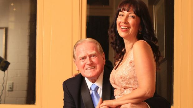 Fred Nile proposes to his now-wife, Silvana Nero.