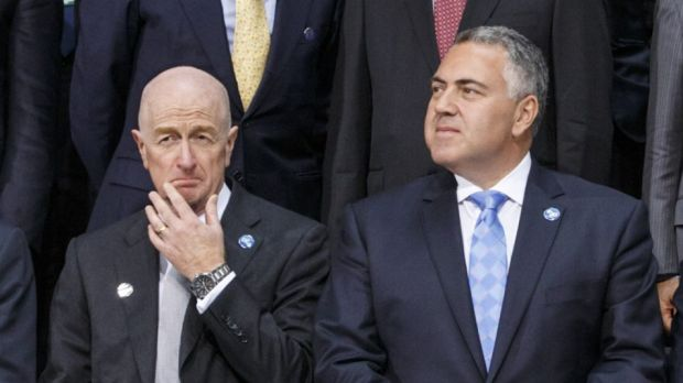 Joe Hockey is right not to be cutting spending harder than he is in the new financial year.