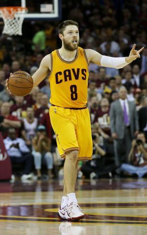 Mr Popular: Matthew Dellavedova's jersey sales have soared.