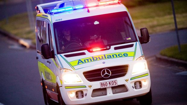 A man has walked away from a 100 metre fall at Table Top Mountain at Toowoomba.