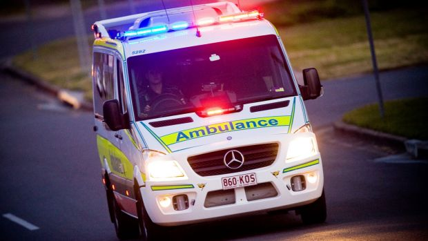 A person has died and four others injured in a vehicle rollover on the Warrego Highway.