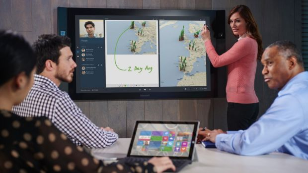 Microsoft Surface Hub.