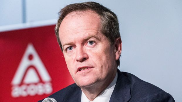 Labor leader Bill Shorten has rejected the Abbott government's proposed changes to the pensions asset test.