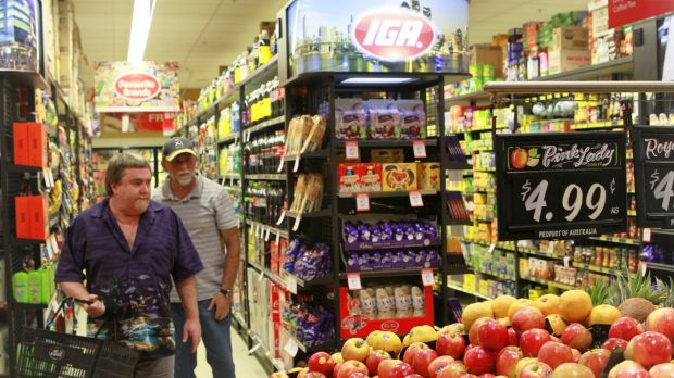 Coles and Woolworths have lower prices than IGA and make more money, so it stands to reason they have lower costs.