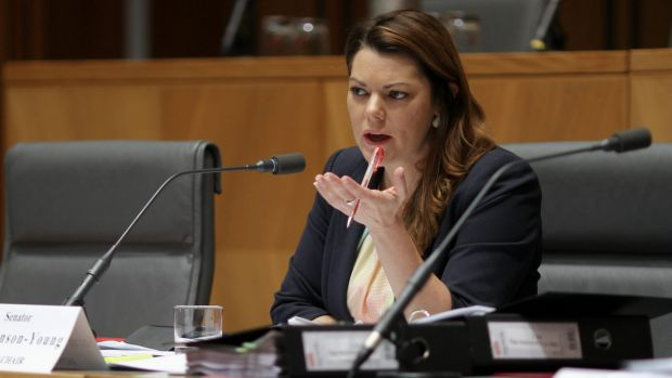 """Border Force are out of control"": Greens Senator Sarah Hanson-Young."