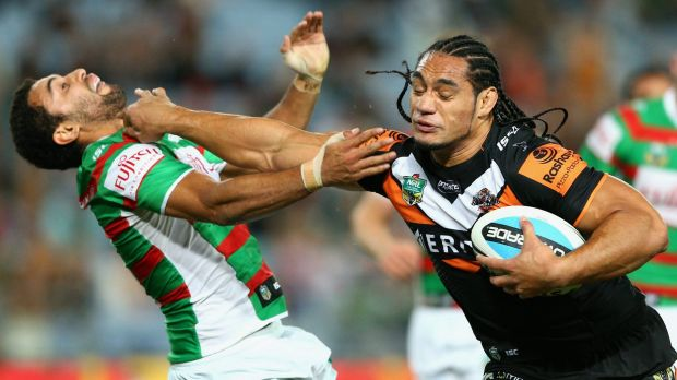 Martin Taupau was a key man for the Wests Tigers in 2015.