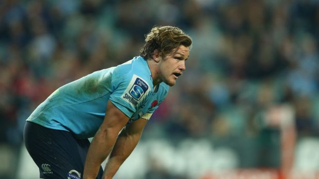 Leader: Michael Hooper will start a Super Rugby season as Waratahs captain for the first time next month.