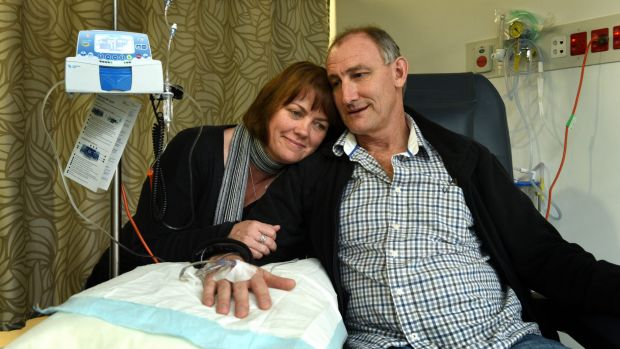 Karen and Bradley Selmon say the doctors were astounded at how successful the trial was.