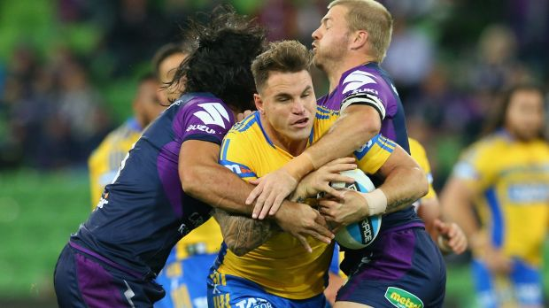 Scrutiny: Anthony Watmough's third-party deal with the Eels has been looked at by the NRL.