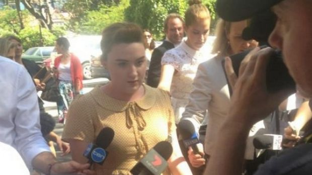 Olivia Mead, 18, the secret daughter of late Perth billionaire Michael Wright successfully challenged his will and was ...