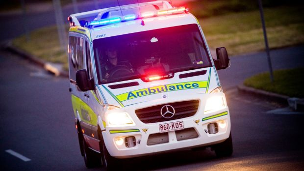 At last one person is in a serious condition after an accident on the Bruce Highway.