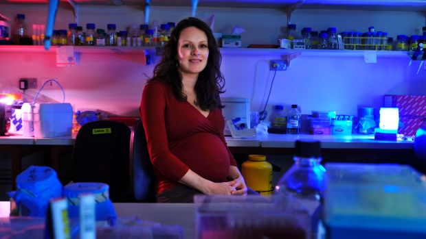 Marnie Blewitt, genetic research scientist with the Walter and Eliza Institute.
