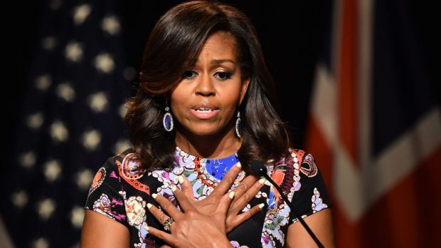 "Michelle Obama: ""displayed superior integrity""."