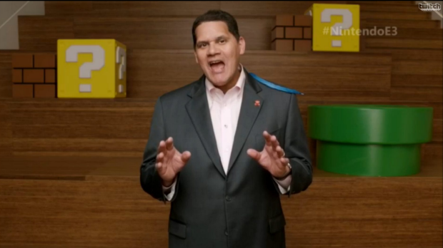 """Nintendo of America CEO Reggie Fils-Aime says the theme of Nintendo's current approach to gaming is """"transformations""""."""