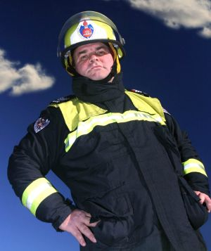 Firefighter Jeff Sundstrom started the campaign to nominate Gillian Triggs as Australian of the Year because he was ...