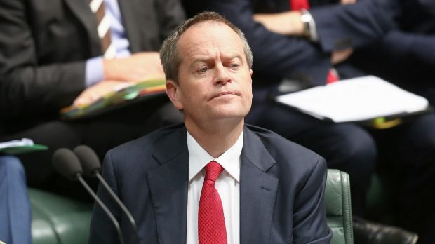 Opposition Leader Bill Shorten during question time on Wednesday. His right-wing faction has lost control of Labor's ...