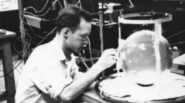 David Bies in his laboratory.