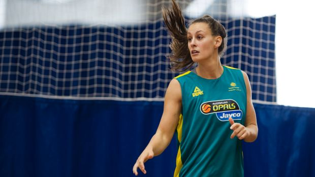Steph Talbot will line up for the Canberra Capitals in Queensland this weekend after returning from a Rio Olympic test event.