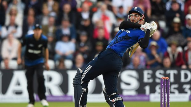No fear: Alex Hales is part of England's new brigade.