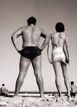 'Bondi', this print from Monash Gallery of Art, fetched $25,000.