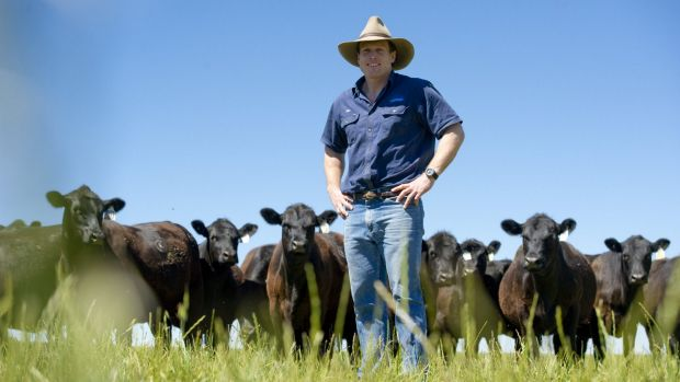 Farmers like Sam Burton-Taylor are capitalising on Australia's reputation for high-quality produce at a time of ...