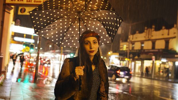 Alya Higgins, 20, of Newtown, is concerned about the flood of revellers coming to King Street and its pubs since the ...
