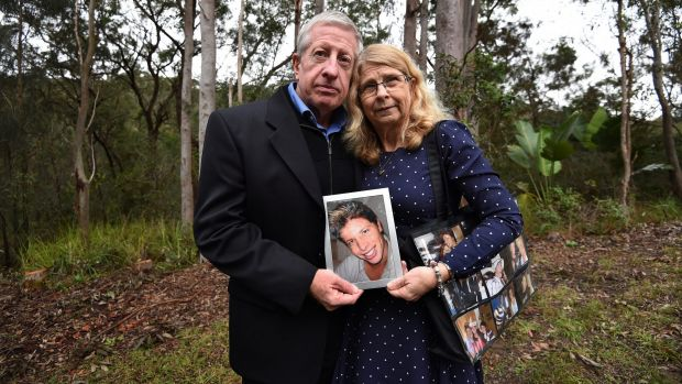 Matthew Leveson's parents, Faye and Mark, with a photograph of him.